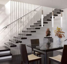 40 Awesome Modern Stairs Railing Design 40